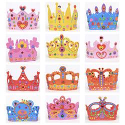 Из вспененного Эва (этилвинилацетата); для бумаги блёстки корона творческие цветы Звезды вышивка крестом картины детский сад книги по