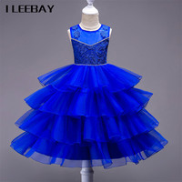 Kids Dresses For Girls Flower Girl Dresses For Party And Wedding Children Christmas Costumes Toddler Clothes