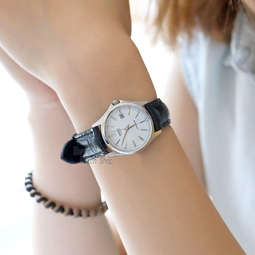 ef6f5edbc128 Reloj Casio analógicas las mujeres reloj de cuarzo elegante y cómodo  impermeable puntero ver LTP 1183 en Relojes de mujer de Relojes en  AliExpress.com ...