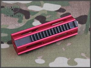 Image 3 - Emersongear Tactical Auminum CNC pełne stalowe zęby 14 zębów szybkobieżna przekładnia tłokowa AEG Airsoft akcesoria do zabawek