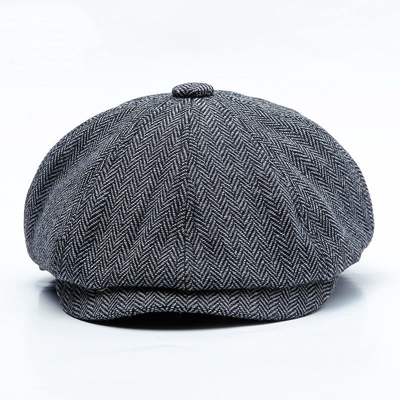 Beret-Caps Newsboy-Cap Ivy-Hat Autumn Male Winter Man And 60cm 58cm Top-Grade Big-Head