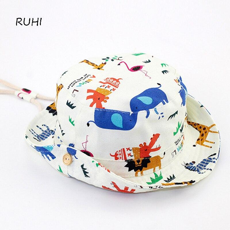 Summer Boys Girls Cowboy Straw Hat with Stars Kid Child Bucket Fisherman Caps Bob Sun Protection Hat