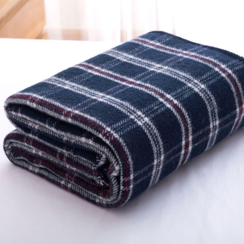 Осень Зима Высокое качество 100% шерсть плед Япония стильный домашний текстиль толстый диван автомобиля Декоративные Постельные Принадлежн... - 2