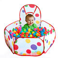 New Children Kid Ocean Ball Pit Pool Game Play Tent In Collapsible Ocean Ball Pit Pool Tent House Foldable For Baby Playground