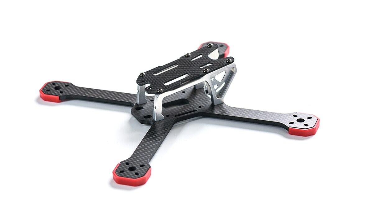 TransTec 5 ''cadre Drone grenouille Lite V2 218mm Fiber de carbone quadrirotor 4mm bras X cadre compatible 2205 moteur pour Drone de course FPV
