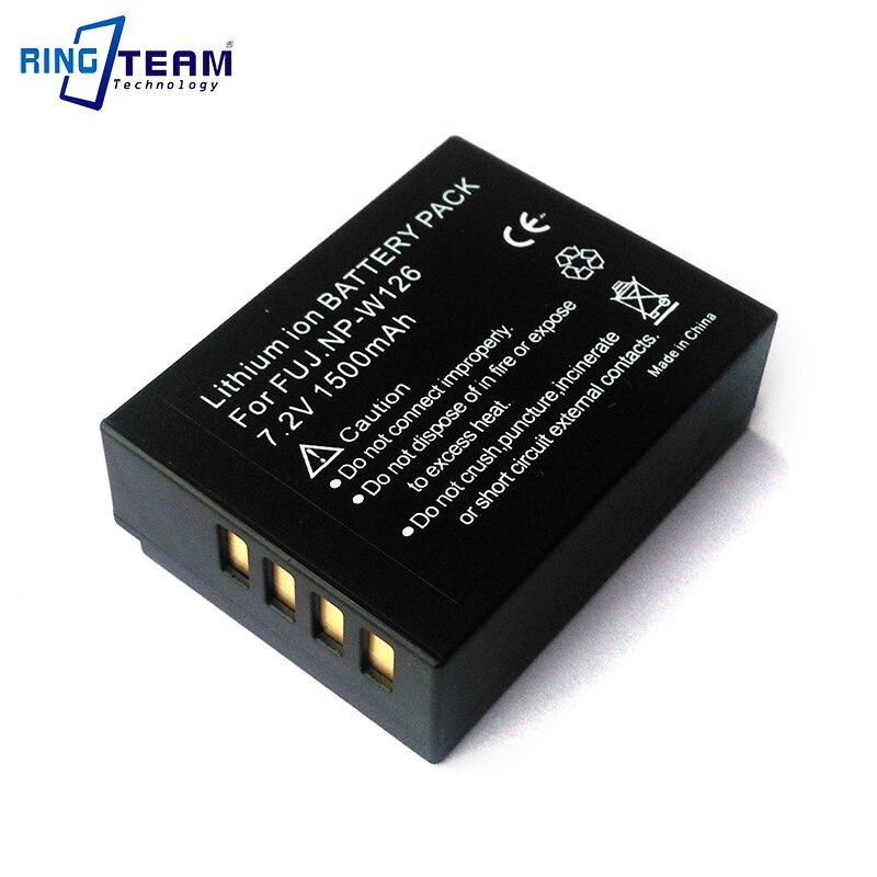 NPW126 NP-W126 Batterie pour Fujifilm FinePix HS30EXR HS33EXR X-Pro1 X-E1 X-E2 X-M1 X-A1 X-A2 X-T1 X-T10 XT10 X-T20 XT20 Caméras