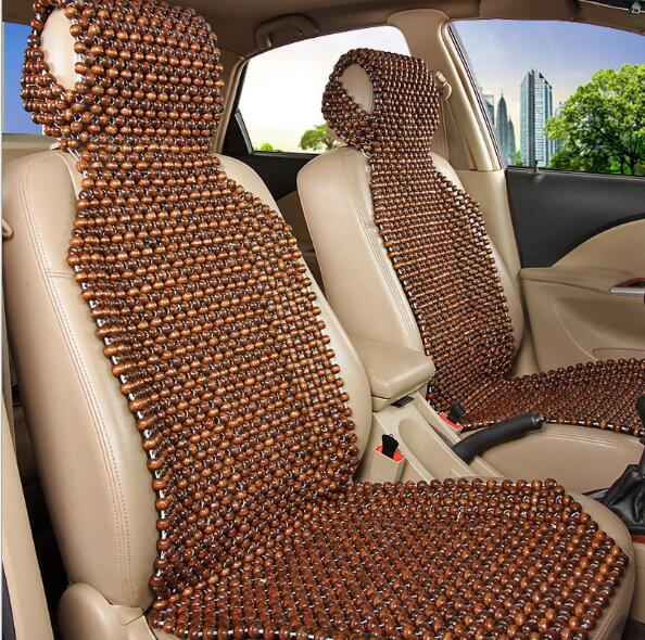 OL Summer beads bamboo mat cushion summer car wood bead big 3 single seat cushion seintex 82629 для kia sorento