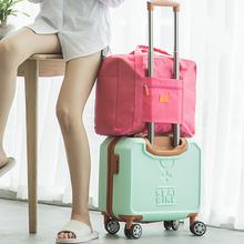 Modne torby podróżne wodoodporne torby podróżne na wakacje torby podróżne o dużej pojemności kobiety nylonowa składana torba torebki podróżne tanie tanio Moda zipper Stałe Podróż torba WOMEN Miękkie travel Bags 32cm 41cm 0 2kg 15 6cm Wszechstronny 4 colors waterproof nylon