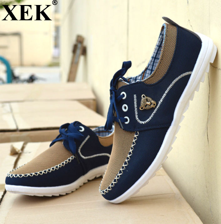XEK 2018 New Men's vulcanized shoes