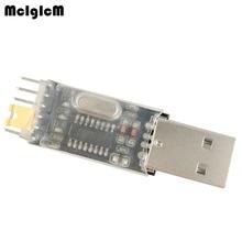 Mcigicm CH340 Module Usb Naar Ttl CH340G Upgrade Downloaden Een Kleine Staalborstel Plaat Stc Microcontroller Board Usb Naar Seriële