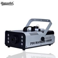1500W RGB 3in1 LED Fog Stage Effect Smoke Machine Remote Control Smoke Machine Stage Lighting Fog Equipment High Quality