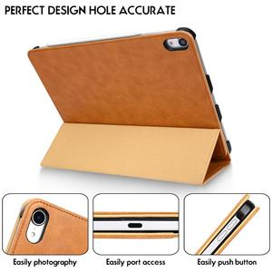 Image 5 - For iPad Pro 11 Case Microfiber Tablet Case with Pencil Slot 2018 Funda Slim Smart Cover for iPad 11 inch Case Magnetic Ultra