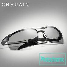 Бренд солнцезащитных очков мужчин Поляризованные драйвер для вождения очки мужские солнцезащитные очки UV400 фотохромные Lens солнцезащитные очки без оправы для мужчин 2017