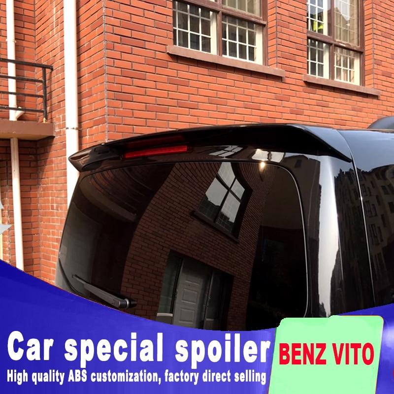 For Mercedes Benz New Vito V260 V260L metri spoiler For V-CLASS 2016 2017 2018 by primer or DIY color spoiler rear wing spoiler цена