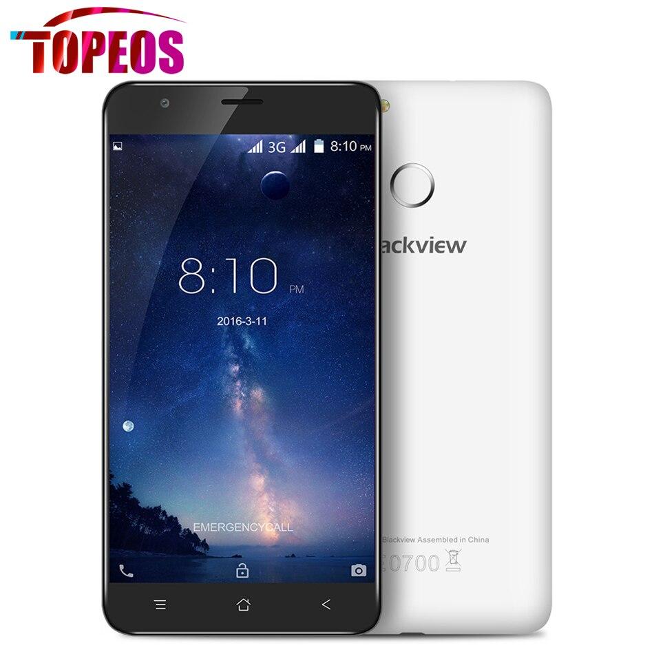 Original blackview e7s teléfono móvil 5.5 pulgadas 1280*720 hd mtk6580a quad Cor