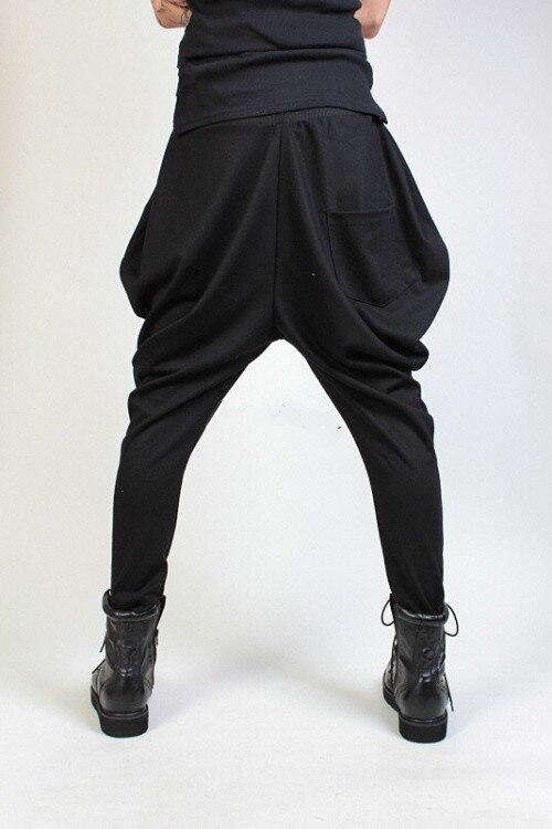 27-44 2017 мужская одежда мода певица тонкий конус загрузки вырезать джинсы трикотажные брюки шаровары брюки мужского здоровья брюки плюс размер костюмы