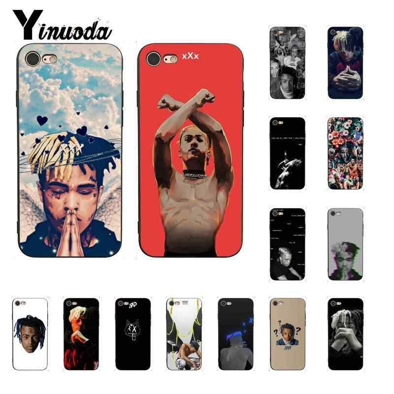Yinuoda Xxxtentacion mode peau design housse de téléphone mince pour iPhone8 7 6 6S 6plus X XS MAX 5 5S SE XR 10 11 11pro 11promax