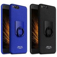 Для Xiaomi 6 дело в Исходном IMAK ковбой матовый жесткий задняя крышка случаях для Xiaomi mi 6 МИ-6 случаи и Кольцо Держатель 5.15 дюймов