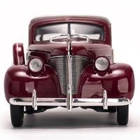 1/18 масштаб сплав литья под давлением 1939 Chevrolet Woody Surf Wagon классическая модель автомобиля игрушечные транспортные средства для коллекции фана