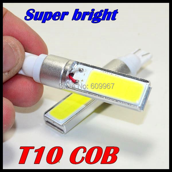 Free shipping 50pcs/lot 168 bulb t10 w5w cob 10w higt power 194 W5W  LED Reverse Light SMD CAR LED lights free shipping one lot 50 pcs ds1207 330m 33uh shielded smd power inductors