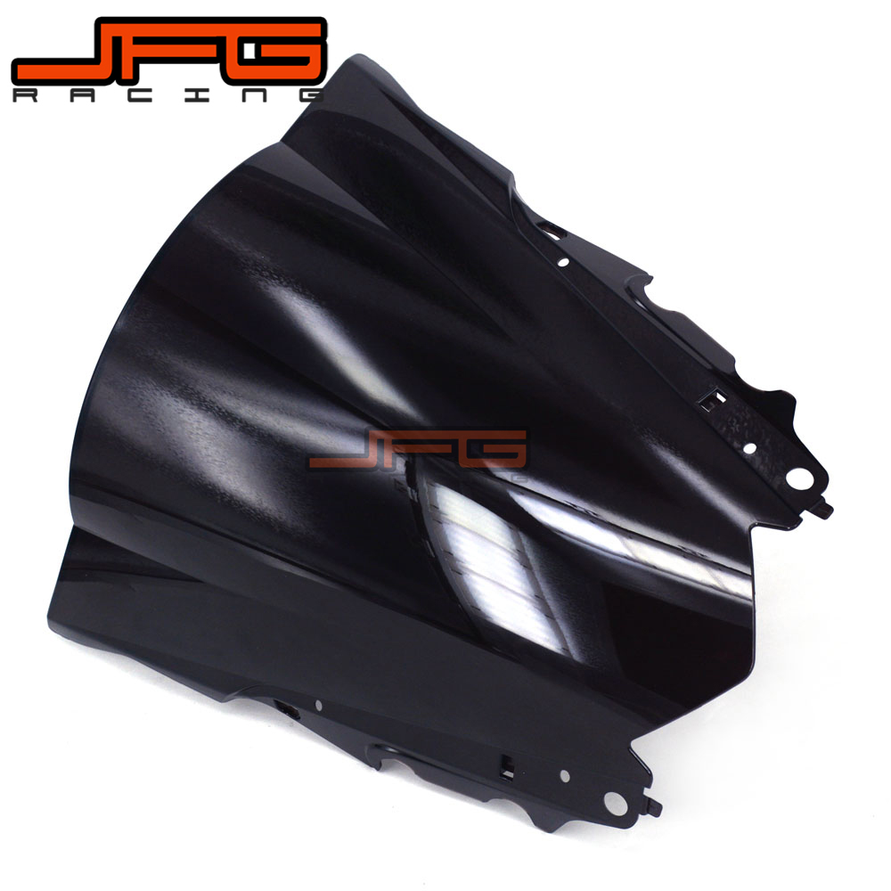 Image 3 - Black Windscreen Windshield for Yamaha YZF R3 YZFR3 YZF R3 YZF R25 YZFR25 YZF R25 2015 2016 2015 2016 Motorcycle-in Covers & Ornamental Mouldings from Automobiles & Motorcycles