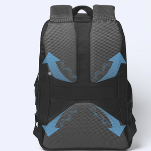 Image 5 - Original Xiaomi 23L Backpack Level 4 Waterproof 15.6inch Laptop Bag Cooling Decompression Rucksack Outdoor Travel Student Bags