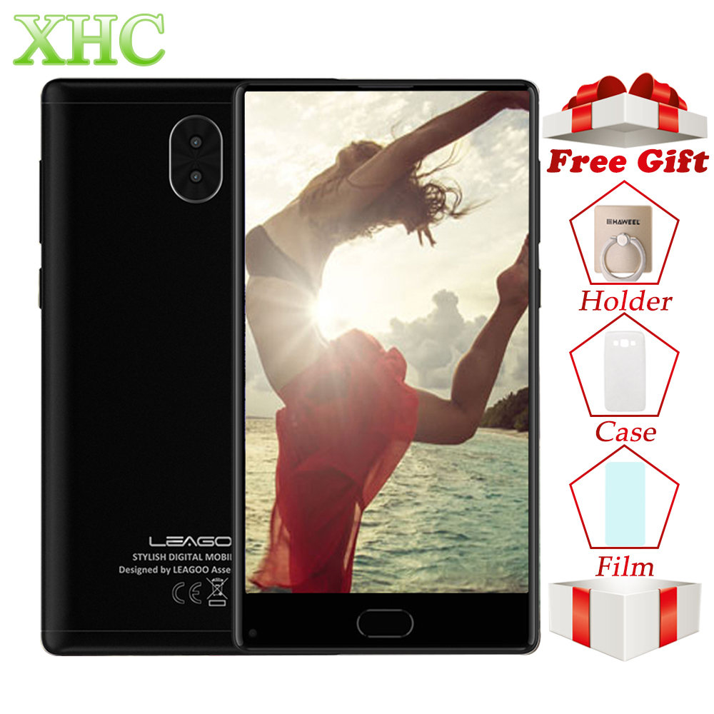 LEAGOO 32 3 KIICAA MIX 5.5 polegada RAM gb ROM gb Telefones celulares Android 7.0 Octa Dual Core 13MP MTK6750T câmeras SIM LTE 4g Smartphones
