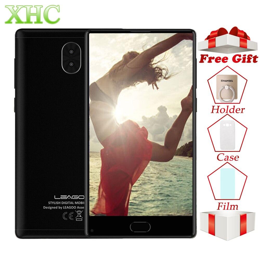 LEAGOO kiicaa MIX 5,5 дюймов Оперативная память 3 ГБ Встроенная память 32 ГБ мобильный телефоны android 7,0 mtk6750t восемь ядер двойной 13MP камеры SIM смартфон LTE ...