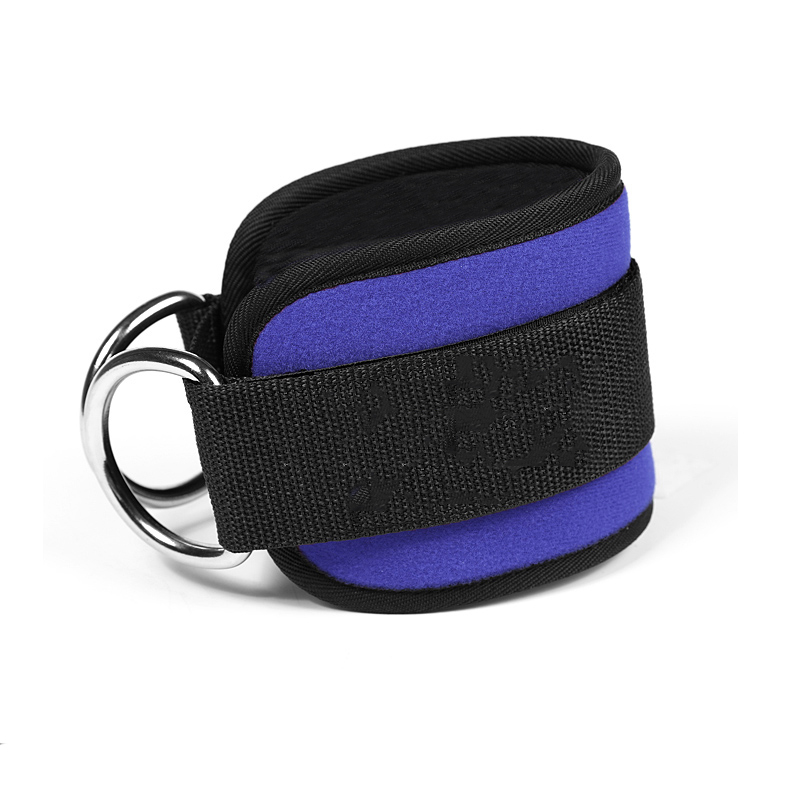 1 Piece Fitness Ankle Straps Practical Exercise Ankle Cuffs Padded Ankle Strap For Legs Abs And Gluteus Exercise Black Blue Red