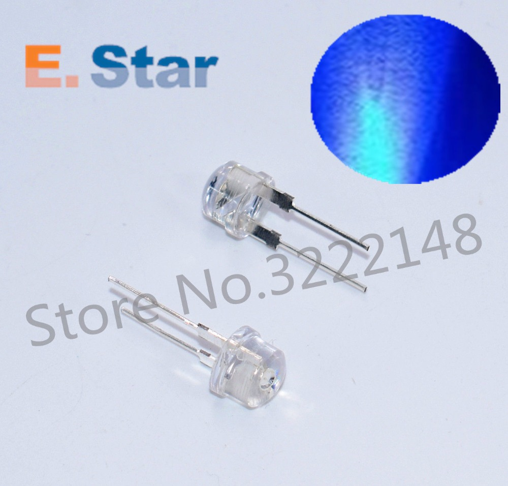 200 x Ultra-Bright White 5mm LED Diode Light Bulb Low Consumption