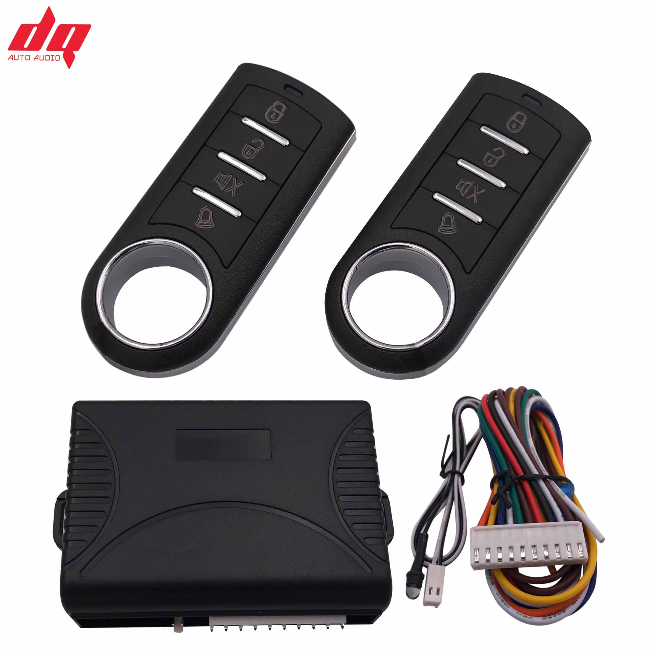10P General Car Alarm System Auto Remote Central Kit Door Lock Locking System With Key Central Locking With Remote Control