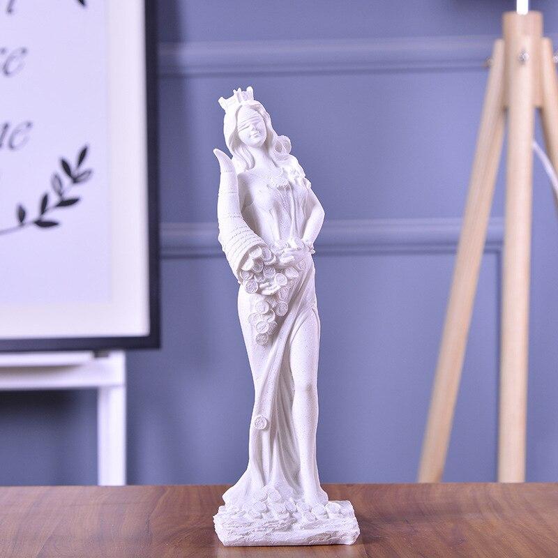 12″ Sandstone Goddess Demeter or Aradia Statue