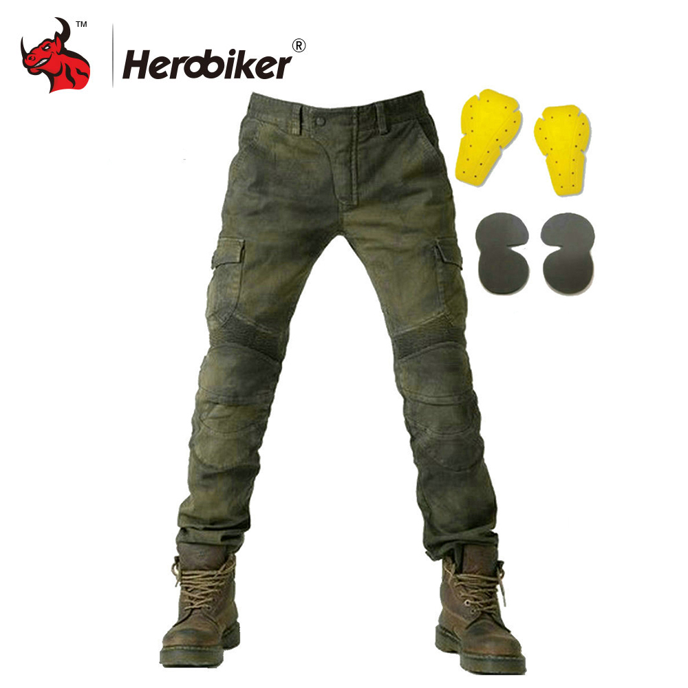 New Motorcycle Pants Men Moto Jeans Riding Touring Motorbike Trousers Motocross Pants Pantalon Moto Pants Protective Gear