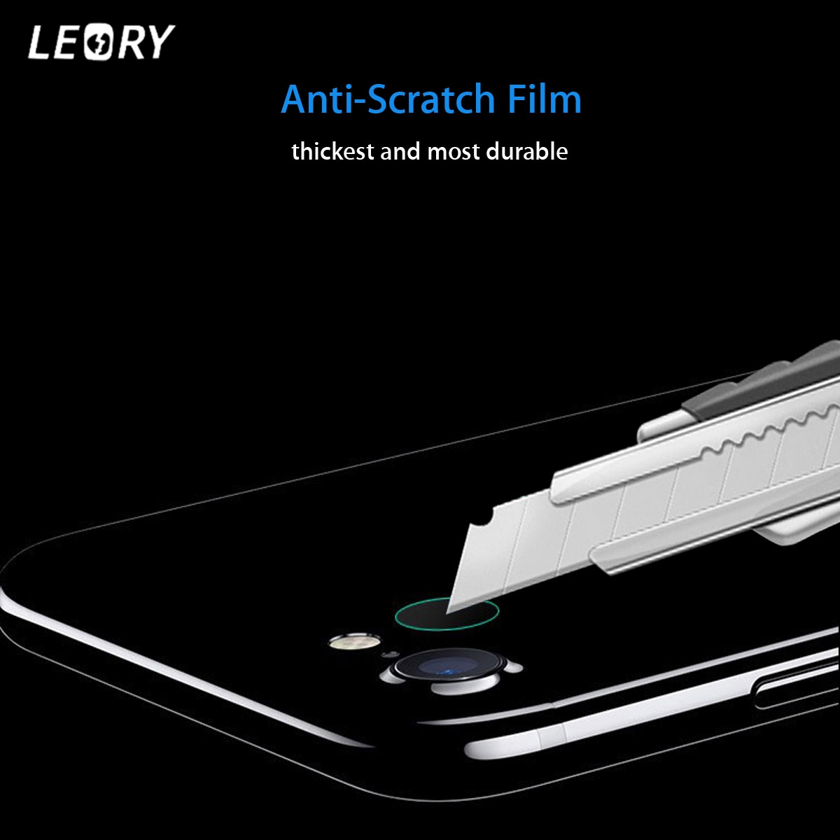 LEORY High Quality Rear Back Camera Lens Slim Tempered Glass Protector Film For iPhone8 0.2mm Protection Cover Back Protector
