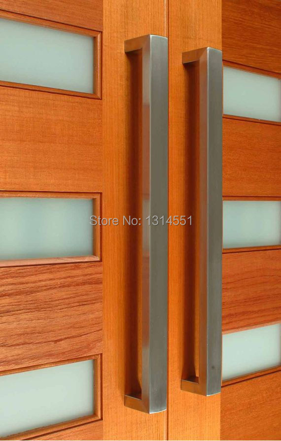 Timber Door Handles Amp 566 25x50x900mm Modern Stainless