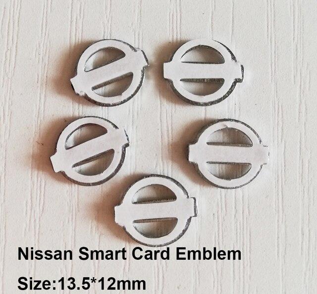 13.5X12mm חכם כרטיס מפתח מדבקה, NissanHollow רכב לוגו עם 3 M דבק