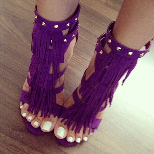 Popular Purple Sandal Heels-Buy Cheap Purple Sandal Heels lots ...