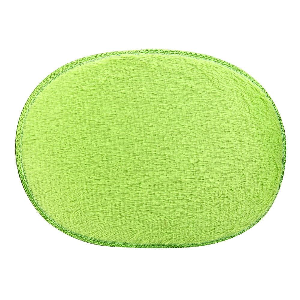 30*40cm Polyester Anti Skid Fluffy Shaggy Area Rug Home