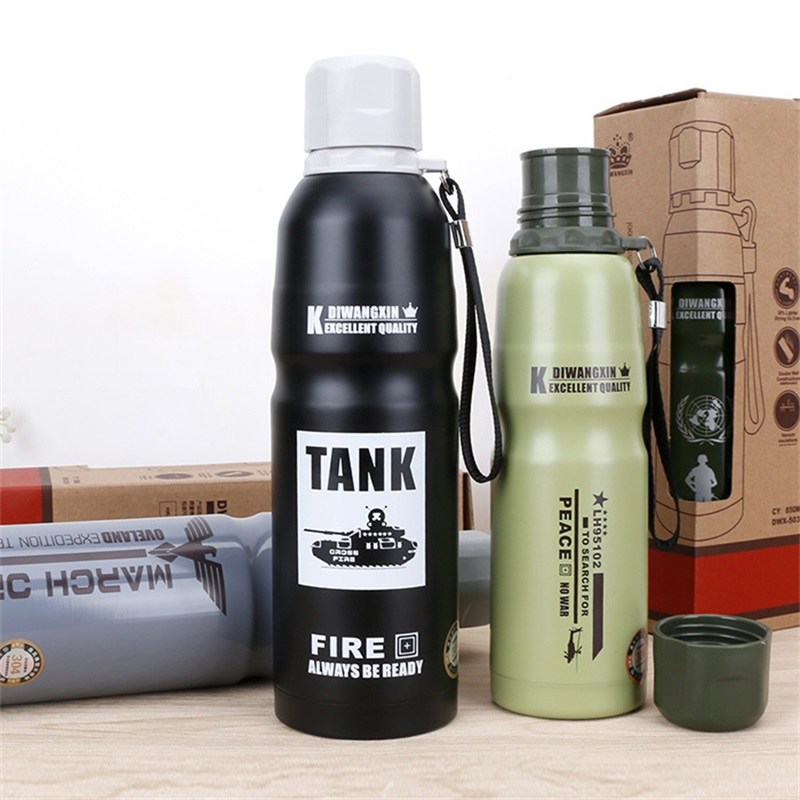 500ml Stainless Steel Vacuum flask thermo Water Tea Mug Thermo Coffee Mugs Kettle Travel Sports Camping