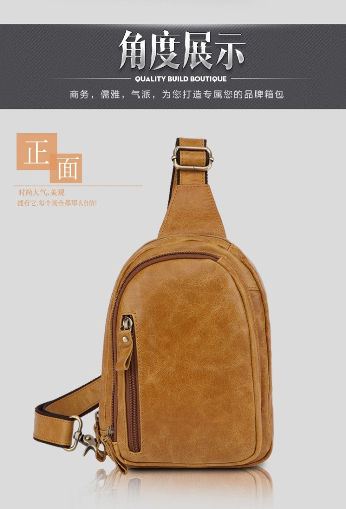 a49fc7fcb9 new 2016 Swiss army knife men Brand messenger bag waist pack genuine  leather casual men\'s bag chest pack men waist bags men X001