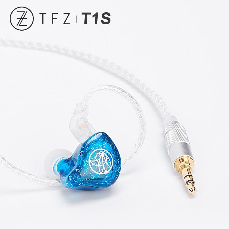 TFZ T1S T1SM HiFi Audio Dynamic Driver In Ear Monitor Earphone Earbuds 3 5mm for Xiaomi