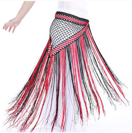 New Style Belly Dance Costumes Colors Tassel Belly Dance Hip Scarf For Women Belly Dancing Belts
