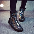 Free shipping 2016 winter Camouflage snow boots women Heavy-bottomed cotton warm shoes