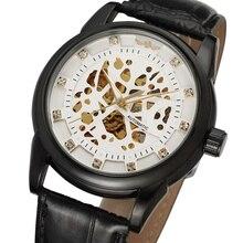f87f2cd00 الفائز العلامة التجارية الفاخرة الملكي الماس تصميم الذهب الأسود ساعة Montre  أوم رجل ساعة Relogio الذكور