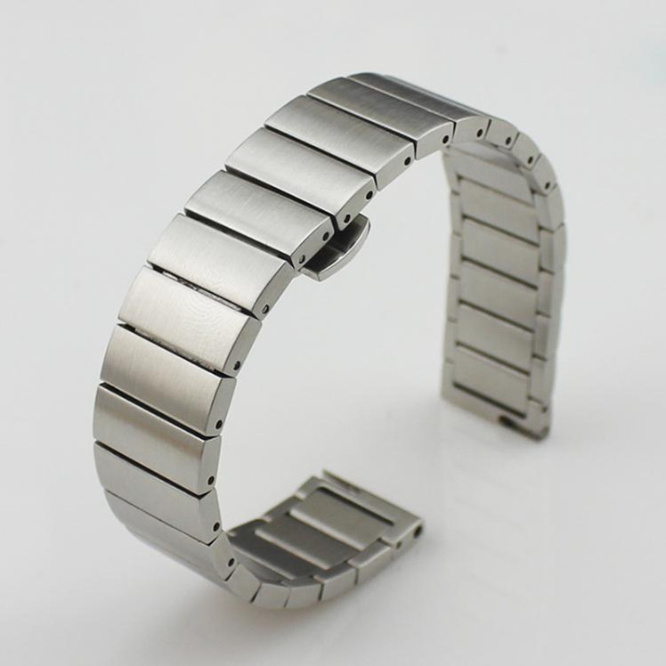 imágenes para Reemplazo de Pulsera de Acero Inoxidable Venda de Reloj de la Correa de TPU Para Huawei TalkBand B3 Banda
