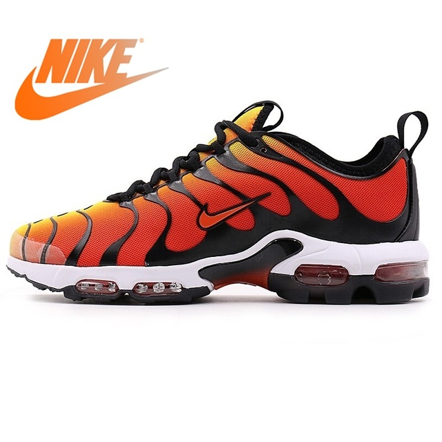 sale retailer 005ad afb19 Original NIKE AIR MAX PLUS TN ULTRA Men s New Outdoor Sports Running Shoes  Breathable Casual Wear Resistant Sneakers for Men
