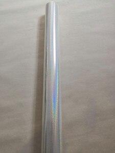 Image 5 - Голографическая фольга, прозрачная Хрустальная точечная штамповочная фольга, горячий пресс на бумаге или пластиковой пленке для передачи