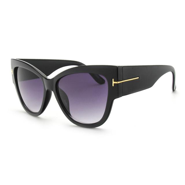 ROYAL GIRL Luxury Brand Designer Women Sunglasses Oversize Acetate Cat eye Sun glasses Sexy Shades ss649