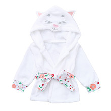 Cat Styled Cute Robe for Babies