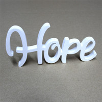 21 colors wood Conjoined letters Alphabet words live love hope sweet home family and Wooden Crafts for wedding decoration